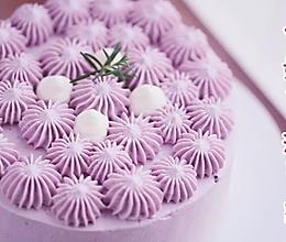 炼奶芋泥蛋糕的做法