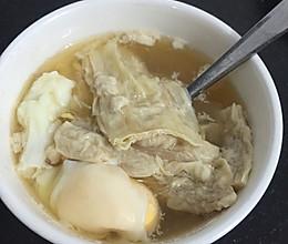腐竹鸡蛋红糖水的做法