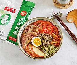 韩式荞麦冷面~好吃低卡超满足的做法