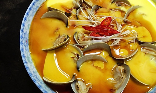 #梅太厨房#青蛤蒸蛋的做法