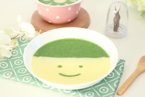 蛋黄青菜糊的做法