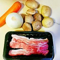 改良版日式土豆炖肉的做法图解1