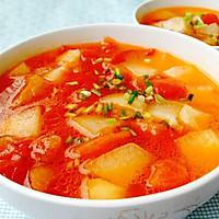 清爽开胃--番茄冬瓜汤的做法图解11