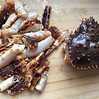 春节必备年夜菜--帝王蟹(含拆蟹方法)的做法图解5