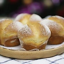 海绵蛋糕般松软Q萌的糯米粉屁股面包