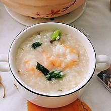 #快手又营养,我家的冬日必备菜品#砂锅香菇虾仁粥
