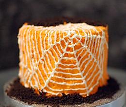 万圣节蛛网蛋糕的做法