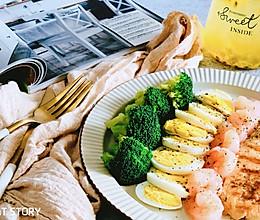 有营轻生活—鸡扒虾仁低脂餐的做法