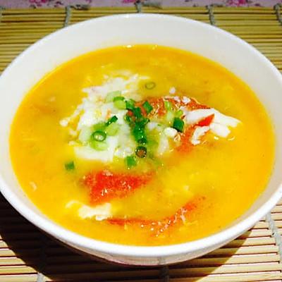 夏日清热解暑之--浓浓番茄蛋花汤(健胃消食)