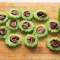 炎炎夏季巧吃苦-----红枣酿苦瓜的做法图解9