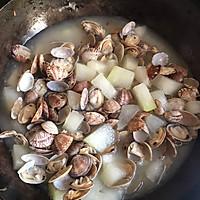 冬瓜蛤蜊汤的做法图解7