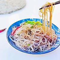 凉拌粉丝#快手又营养,我家的冬日必备菜品#的做法图解6