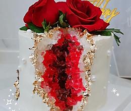 水晶洞蛋糕的做法
