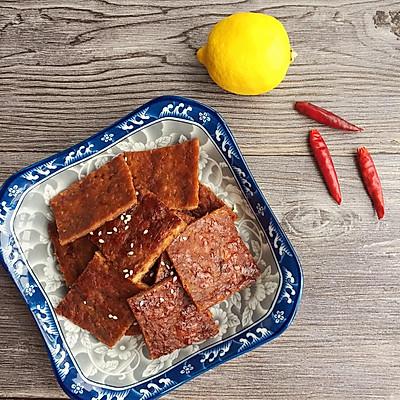 泰式柠檬肉干 这种口味的猪肉脯你值得拥有