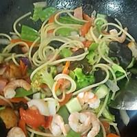 减肥什锦蔬菜意面的做法图解3