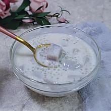 #母亲节,给妈妈做道菜#夏日甜品之香芋牛奶西米露