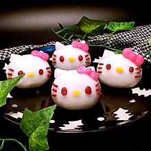 Kitty 冰皮月饼#手作月饼#