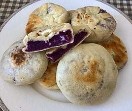 健康紫薯饼的做法