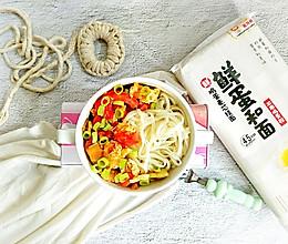 适合夏季的早餐:西红柿鸡蛋凉拌面的做法