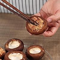 香菇酿肉的做法图解9