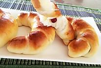 蔓越莓金牛角面包的做法