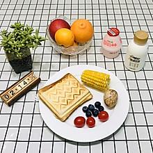 #憋在家里吃什么#吃后舔嘴巴的香蕉芝士花生酱三明治