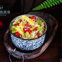 绿豆芽什锦蛋炒饭