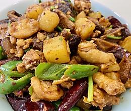 【香菇土豆焖鸡】的做法