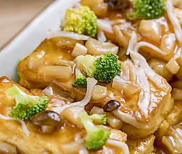 鲍汁豆腐 | 鲜香下饭的做法