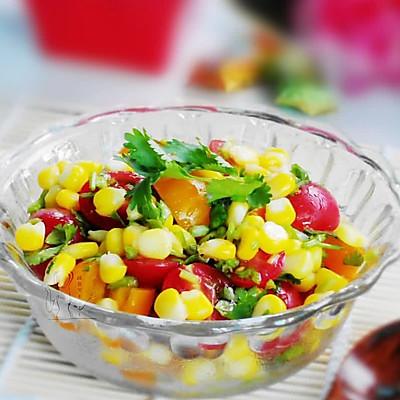 玉米圣女果沙拉