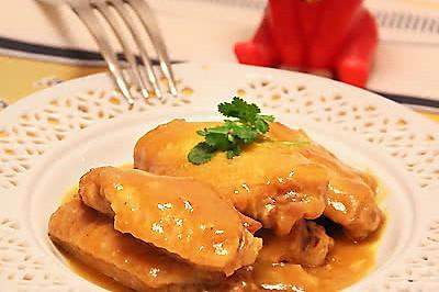简化版黄金咖喱鸡翅