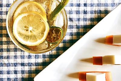 香茅干姜柠檬水