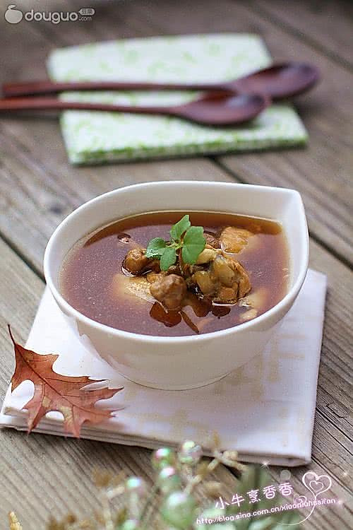 虫草花滋养汤的做法