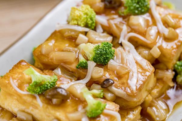 鲍汁豆腐 | 鲜香下饭