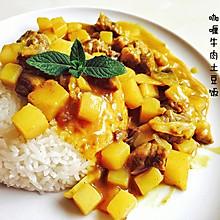 咖喱牛肉炖土豆#奇妙咖喱,拯救萌娃食欲#