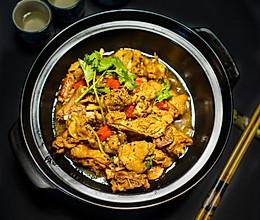 黑椒啫啫鸡的做法