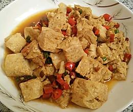 素炒冻豆腐的做法