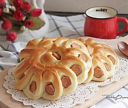 香肠面包卷#急速早餐#的做法