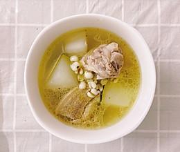 #餐桌上的春日限定#[春夏祛湿下火] 薏米冬瓜老鸭汤的做法
