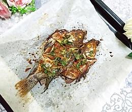 辣椒粉烤鱼的做法