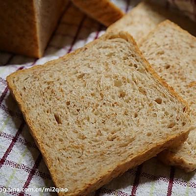 低脂全麦面包(Light Wheat Bread)