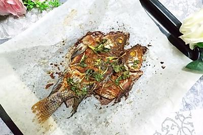 辣椒粉烤鱼