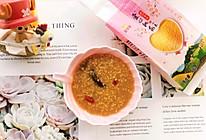 红糖小米粥的做法