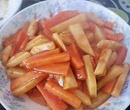 糖醋土豆胡萝卜的做法