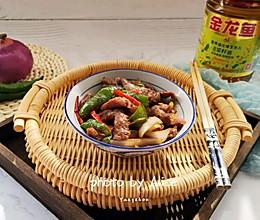 洋葱青椒炒牛柳#金龙鱼营养强化维生素A  新派菜油 #的做法