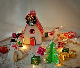 圣诞姜饼屋#令人羡慕的圣诞大餐#的做法