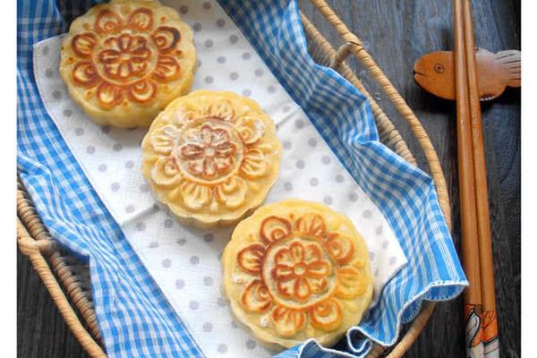 健康菜月饼的做法