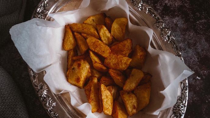 孜然烤薯角#花10分钟,做一道菜!#