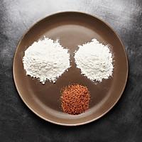【鹦鹉厨房】原麦山丘主厨原创 - 玫瑰盐芝士软欧面包的做法图解2