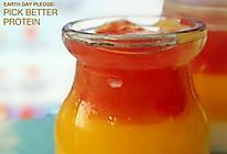 夏日必备甜品——椰奶西瓜芒果果冻的做法